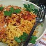 Pui tunisian cu orez