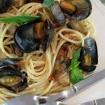 Midii cu spaghete