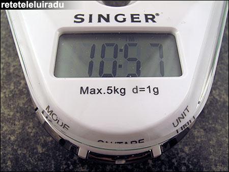 Cantar electronic DKS9166 de la Singer