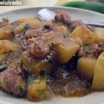 Curry de pipote si inimi de pui