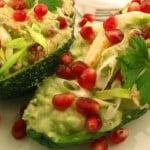 Salata de raci cu avocado si rodie