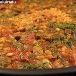Paella cu ciuperci