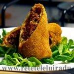 Clatite Cordon Bleu cu ragu si mozzarella