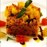 Salata picanta de cuscus cu fructe