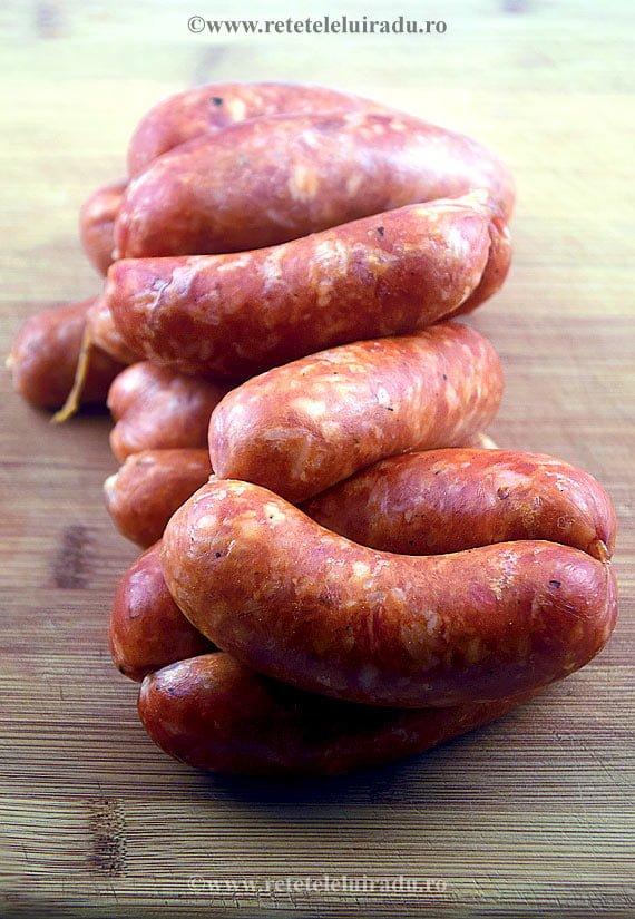 Radu Popovici - Carnati de porc cu cascaval afumat