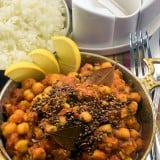 Curry de naut cu baghar