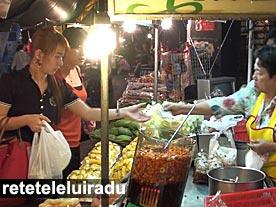 Bangkok - Comert stradal