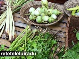 Bangkok - Vegetale proaspete