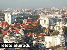 Bangkok - Vedere din Grand China Princess Hotel