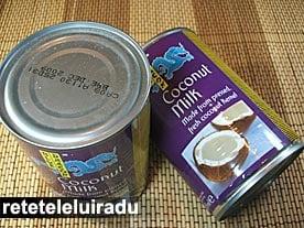 lapte de cocos1 - Laptele de cocos - ingredient obligatoriu in bucataria sud-est asiatica 12 - Retetele lui Radu
