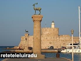Portul vechi din Rhodos