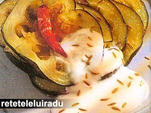 vineteprajiteiaurt1 - Vinete prajite cu iaurt 5 - Retetele lui Radu
