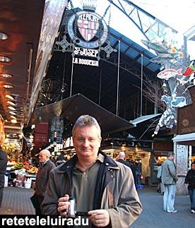 Barcelona - Intrarea in piata La Boqueria