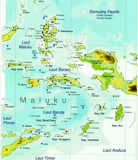 Insulele Mirodeniilor - Arhipeleagul Moluccelor
