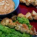 Satay Gai – Frigarui de pui cu sos de alune