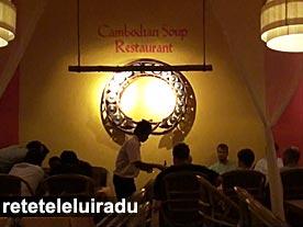 """Siem Reap - restaurantul """"Cambodian Soup"""""""