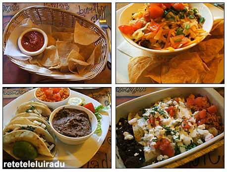 Mancare mexicana la El Torito