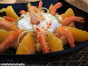 crevetiPortocale1 - Creveti cu portocale 5 - Retetele lui Radu