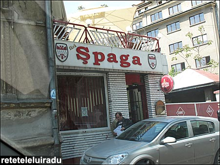 Fara spaga - local bucurestean