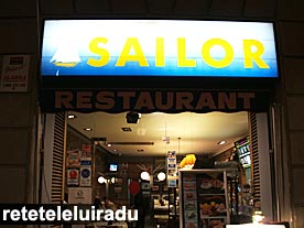 "Restaurantul ""Sailor"" - Barcelona"
