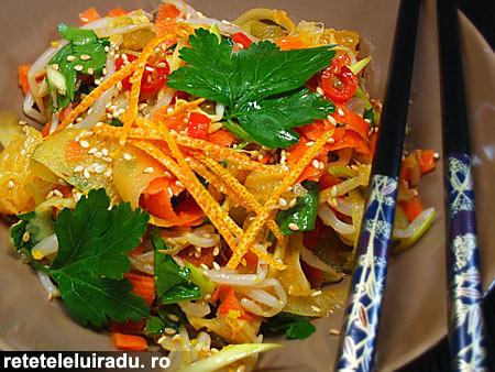 Salata picanta cu portocale