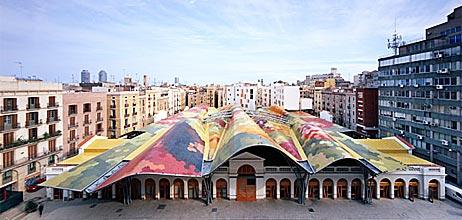 Piata Santa Caterina - Barcelona