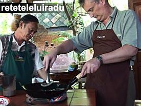 Radu Popovici - lectii culinare Bangkok, decembrie 2008