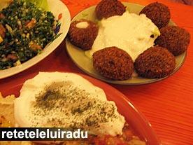 Falafel, restaurant Naser - Bucuresti