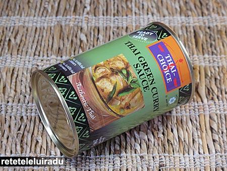 Sos de curry verde thailandez
