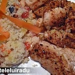 Pui cu salata de cuscus