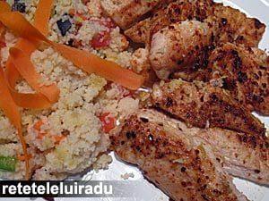 puisalatacuscus1 - Pui cu salata de cuscus 11 - Retetele lui Radu