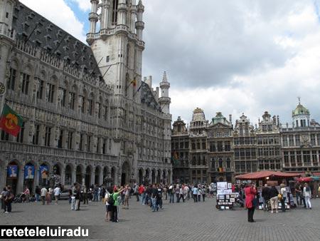 Bruxelles - Piaţa Mare (Grote Markt/Grand Place)