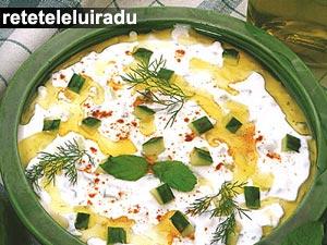 Cacik - Supa rece de castravete cu iaurt