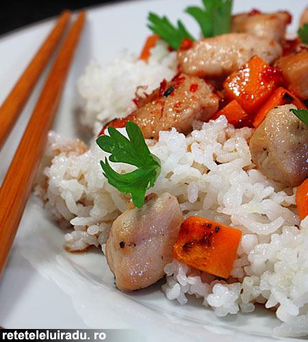 salataPicantaPuiMorcovi - Salata picanta de pui cu orez si morcovi 1 - Retetele lui Radu