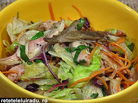 salataPuiBusuioc - Salata de pui cu busuioc 1 - Retetele lui Radu