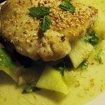 Salata de rechin cu pepene si piper lung