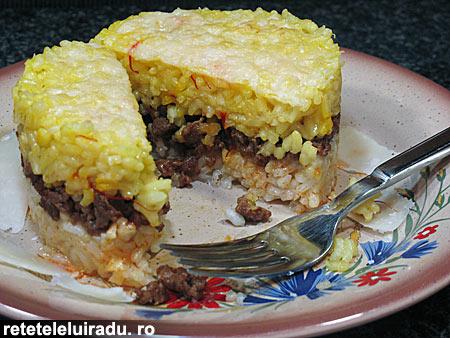 orez bicolor cu carne de vita1 - Orez bicolor cu carne de vita 1 - Retetele lui Radu