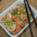 Salata rece de creveti cu taitei