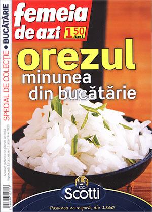 """Coperta revistei """"Femeia de azi"""""""
