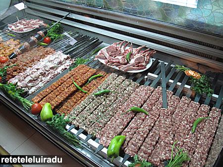 Ali Baba - restaurant arabesc - frigarui pregatite