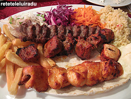 Ali Baba - restaurant arabesc - Mixed grill
