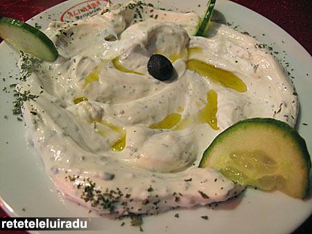 Ali Baba - restaurant arabesc - Labneh