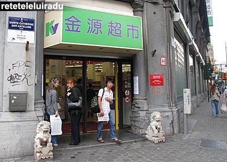 Bruxelles - magazin chinezesc