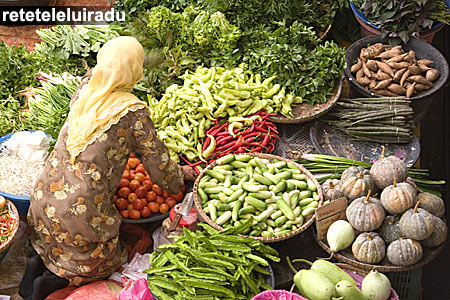 Piaţă în Kuala Lumpur - Malaezia