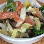 Salata de andive cu somon afumat