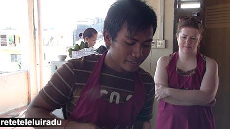 Scoala de gatit, Phnom Penh