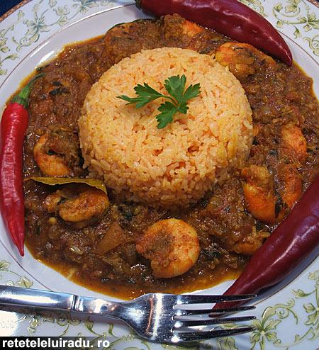 PatiaCurry de creveti - Patia – Curry de creveti 1 - Retetele lui Radu