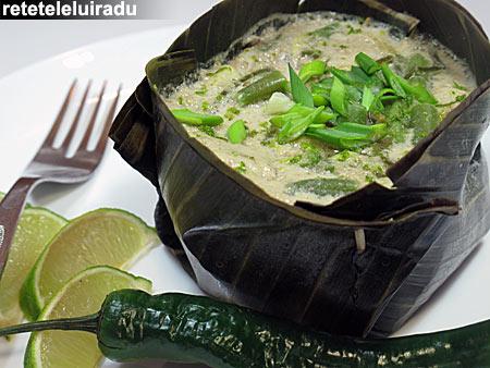 amokTrei - Amok trei – Curry de peste cambodgian 1 - Retetele lui Radu
