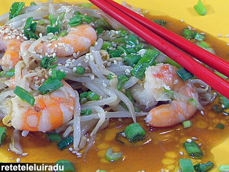 crevetiSosWasabi - Creveti cu sos de wasabi 1 - Retetele lui Radu