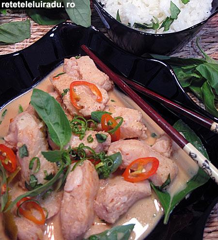 curry de peste1 - Curry thailandez de peste 1 - Retetele lui Radu